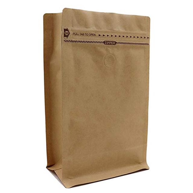 15G 200G Coffee Bag Grain Granola Packing Sealable Custom Side Gusset Stand Up Pouch With Valve And Side Zipper