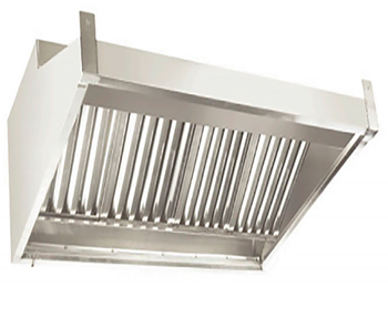 stainless steel kitchen chimney extractor hood for hotels restaurants canteens
