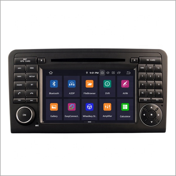 Newnavi 2 din car radio navigation android 9.0 car <strong>dvd</strong> gps for MERCEDES-BENZ ML 320/ML 350/ <strong>W164</strong>(2005-2012)/GL X164/GL320//GL420