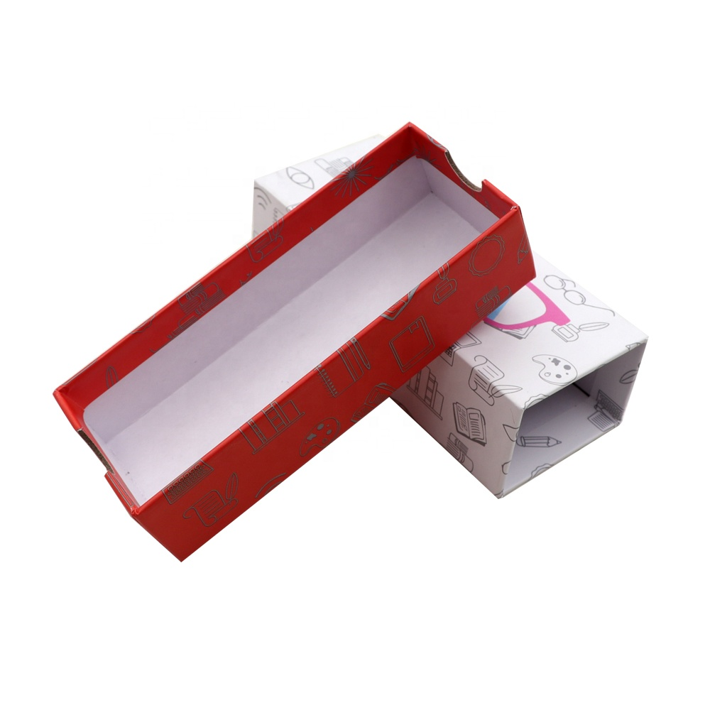 Paper Drawer Box With custom Logo glasses Packaging Gift Box