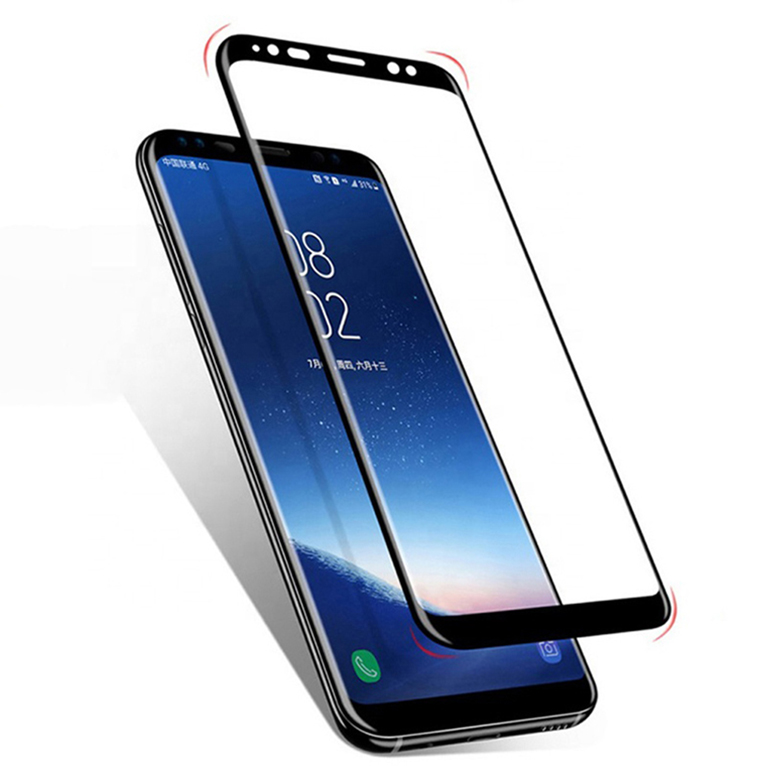 New full glue Protective film Curved 3D full coverage tempered glass for one plus <strong>1</strong>+7plus FUSIONFINITY
