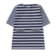 2020 collection cotton spandex knit stripes dress for girls of 10 years old