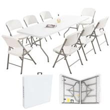 wholesale white modern furniture design outdoor dining folding <strong>tables</strong>