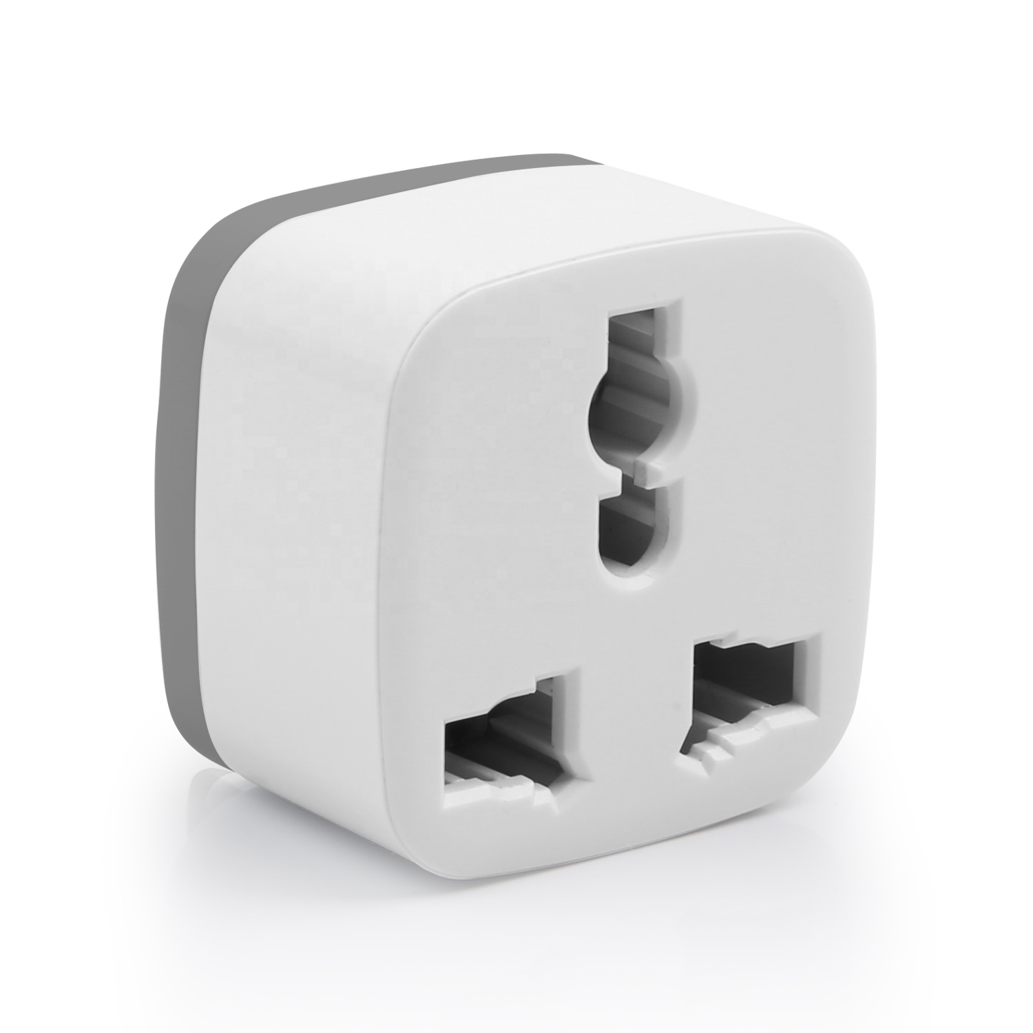 Universal Travel Adapters Two Flat Pin Plug adapters smart power strip
