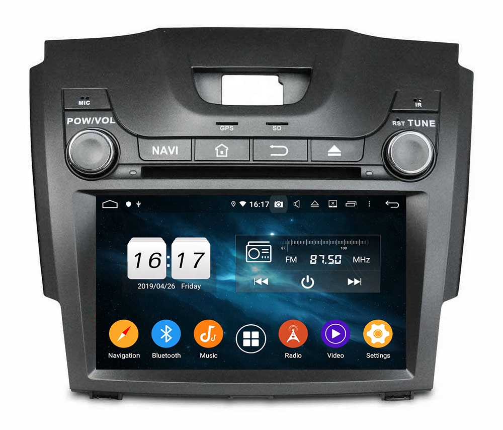 KD-8060 Klyde Factory hot-sale android Car Video Player for S10 <strong>D</strong>-MAX Car2013-2017 Touch Screen with Radio BT WIFI <strong>music</strong> mp3/4