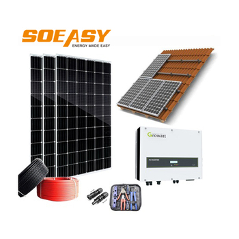 Renewable Energy Home 10 Years Warranty Solar Panel Power System 10Kw On Grid
