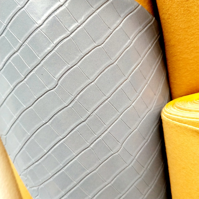 Factory supply pvc leather or fabric for backpacks