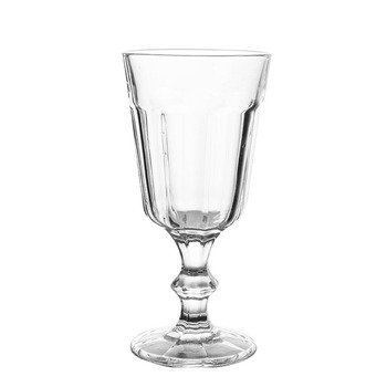 Carved absinthe wine glass