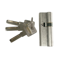 Nickel Plated Single Side Smart Euro Profile Master Key System Lock Cylinder