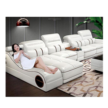 cheap modern <strong>furniture</strong> living room multifunctional massager leather sofa divano