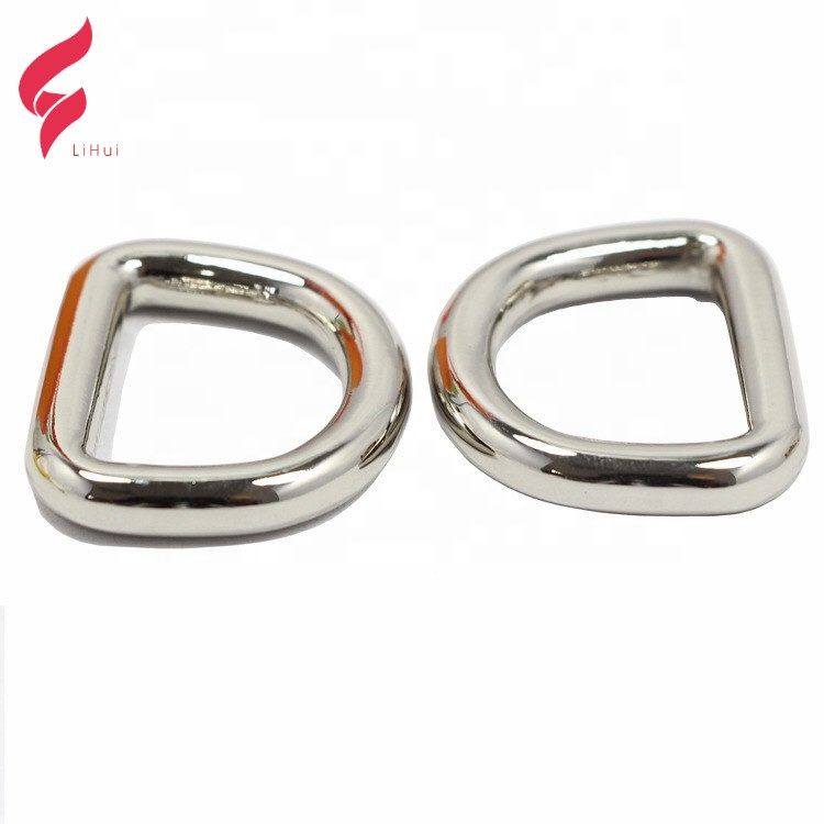 Clothes <strong>D</strong> Ring Buckles Handbag Parts Decorative Hardware Decoration Making Custom Bag Accessories
