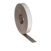 Flexible magnetic rubber sheet roll with pvc tape