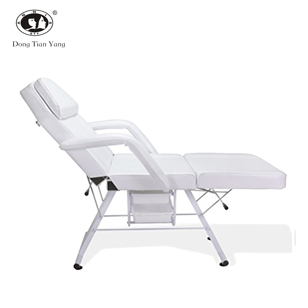 DTY portable reclining cheap facial chair beauty salon portable massage bed for sale