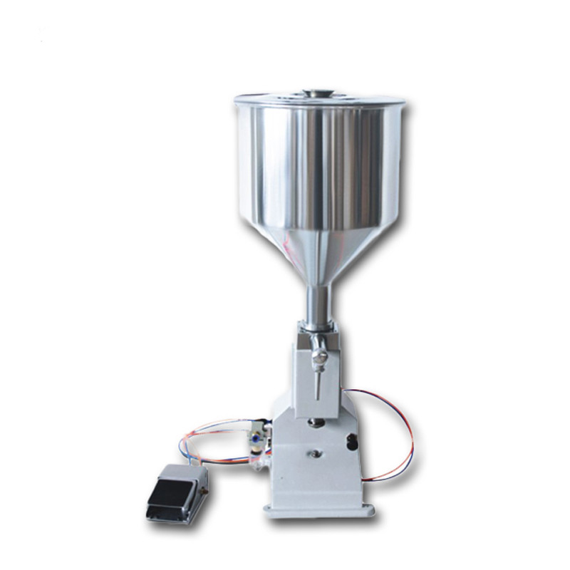 <strong>A02</strong> Pneumatic small dose liquid/cream filling machine/filler