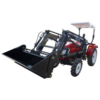 Factory price 50hp 4wd farm tractor with front loader