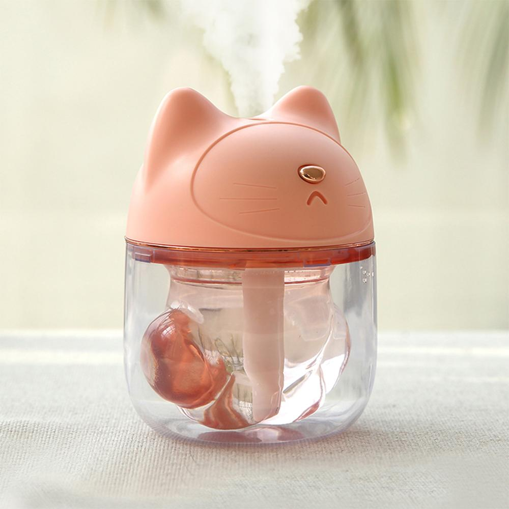 <strong>Mini</strong> Portable Diffuser Cool Mist Air Humidifier Mist Maker with colorful Night Lighting