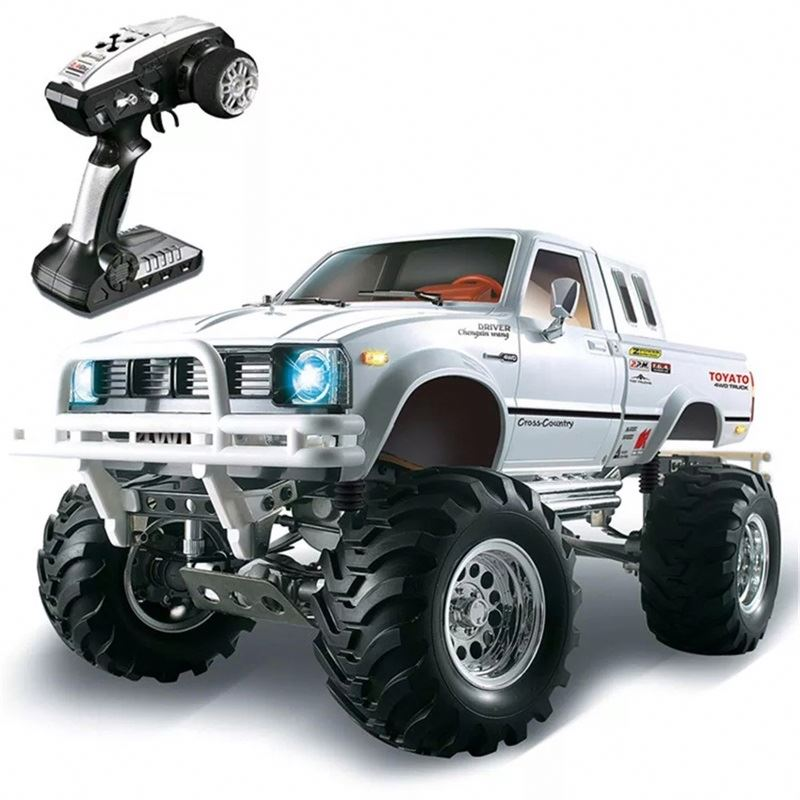 Rtr <strong>Car</strong> Hg P407 1/10 2.4G 4Wd Rally Rc Metal 4X4 Pickup Truck Rock Crawler