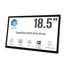 China supplier High definition IP51/IK08 18.5 inch pc touch screen pcap for Pos <strong>system</strong>