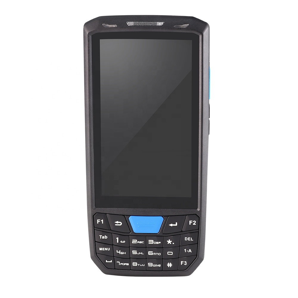 Alphanumeric keys 4.5inch Touch Screen Android 8.<strong>1</strong> os Good Quality Rugged PDA <strong>1</strong> <strong>d</strong> barcode scanner hand-held