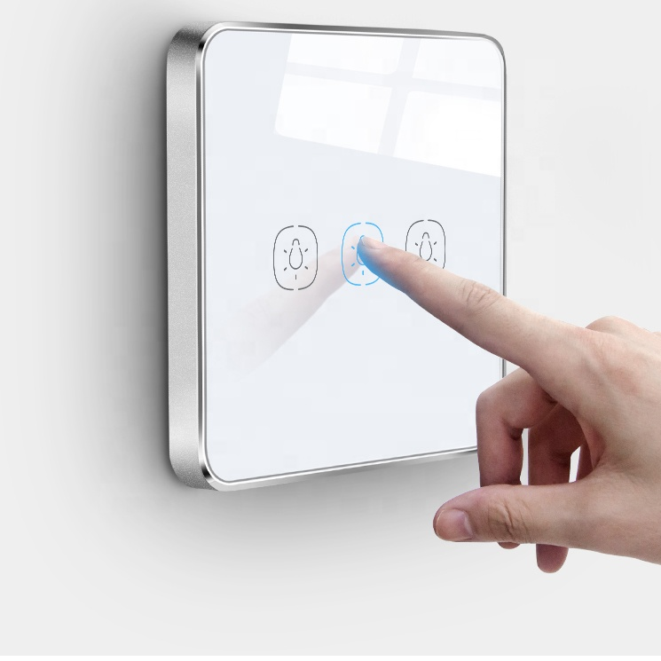 Touch Panel 1 Gang Best Smart Zigbee Light <strong>Switch</strong>