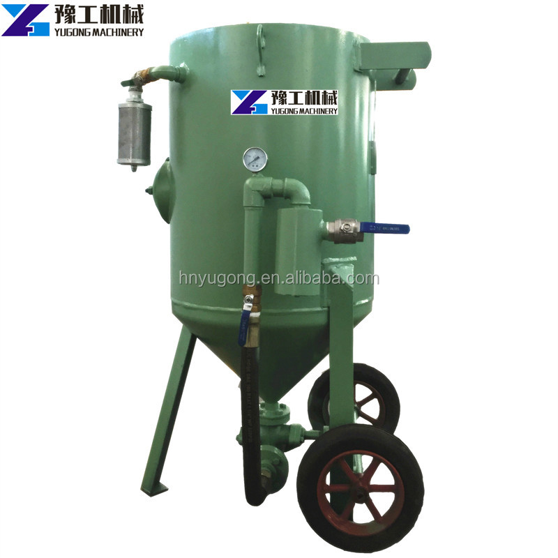 Amazing performance mobile sand blast cabinet machine for sale