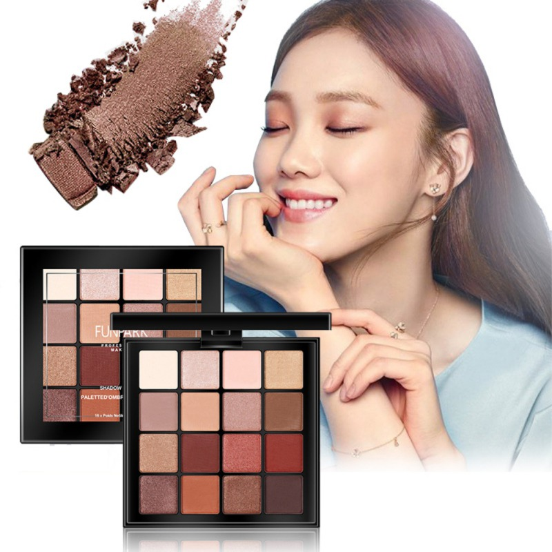 2020 NEW Eyeshadow Palette 16 Colors <strong>Eye</strong> Make up Easy To Wear Glamorous <strong>Eye</strong> Shadow Shimmer Colors
