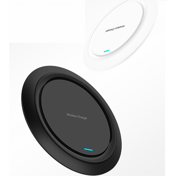 Quickly and Safe Round Ultra Thin Wireless Charger Pad <strong>Mobile</strong> <strong>Phone</strong> Qi 10W