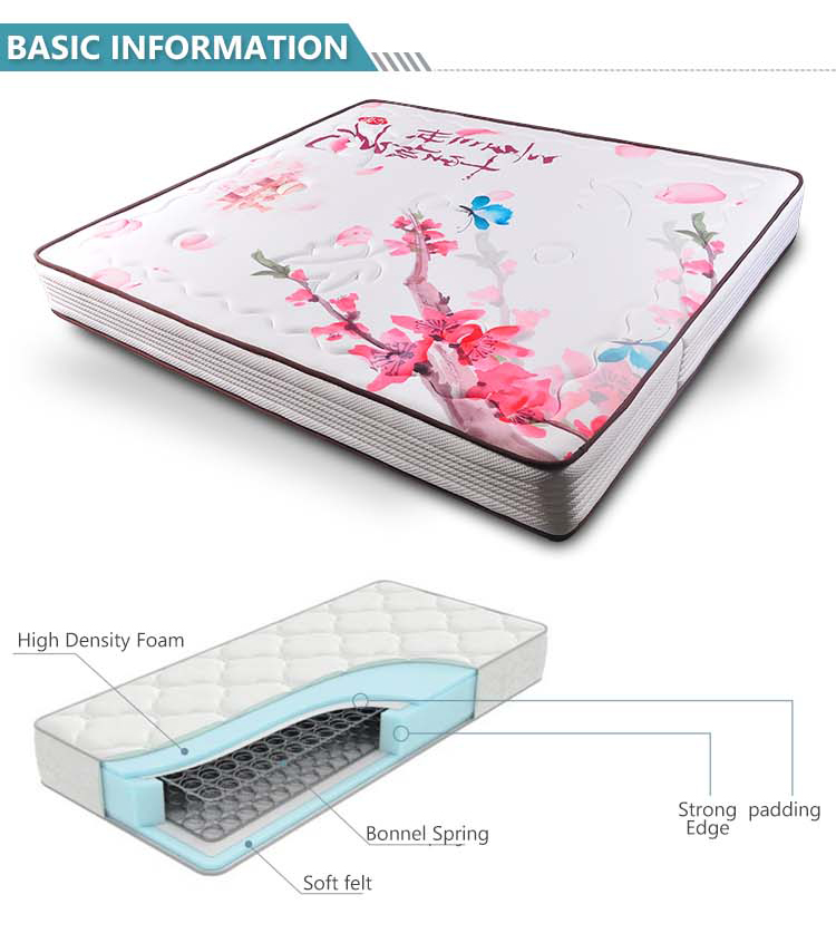 JXDS Silm bonnell spring mattress with cheap price - Jozy Mattress | Jozy.net