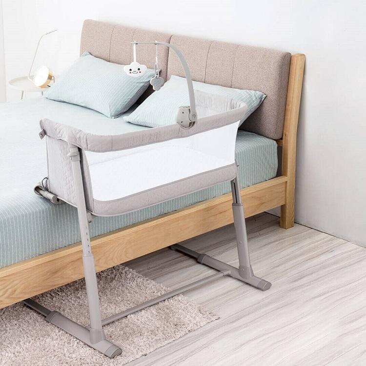 2020 Top Popular Luxury 9 Adjustable Height OEM Bassinet Baby With EN 1130