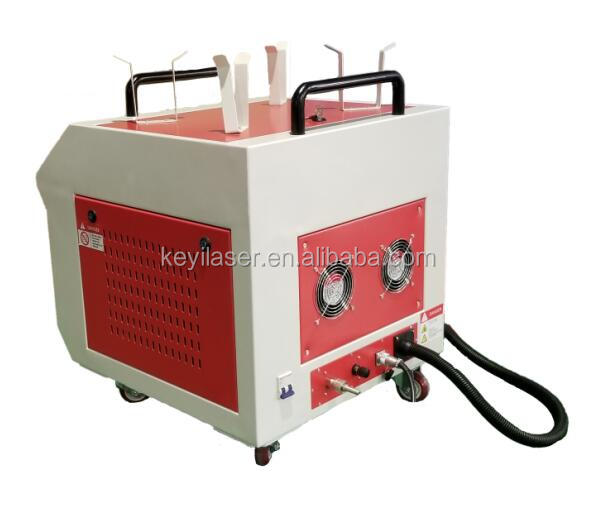 Laser cleaning machine for rust and grease dirt