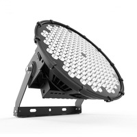 ETL outdoor spotlight fixtures 1000W LED Heavy Duty Tower Flood Lights for maximum distance using round optics
