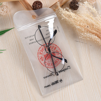 High Quality Fashionable Clear Transparent Pvc Glasses Case Cosmetic Bag