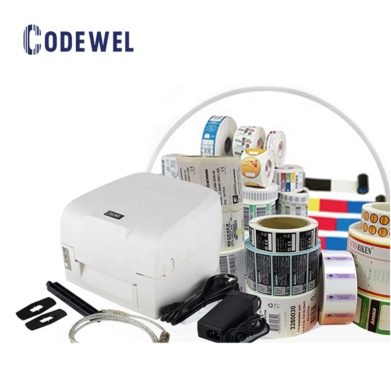 high quality waterproof aluminium software godex thermal barcode sticker color label <strong>printer</strong>