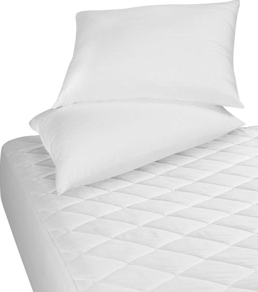 Factory Price Breathable Coolmax Quilted Mattress Pad Waterproof Bed Cover - Jozy Mattress | Jozy.net