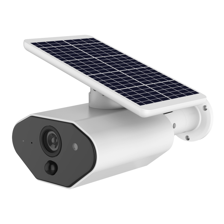 Built-in battery 1080P solar powered wifi security camera 4mm lens with <strong>104</strong> degree view angle