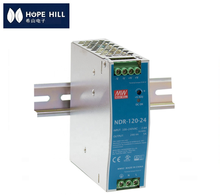 Original MeanWell 120W Industrial DIN RAIL Power Supply 48V 2.5A SMPS NDR-<strong>120</strong>-48 Slim and Economical