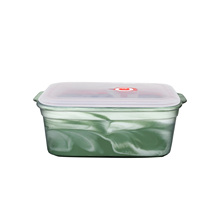 Wholesales Simple and Portable Round Type Wheat Fiber Food Fresh Bowl With PP Lid, Sealed bowl, food <strong>container</strong>