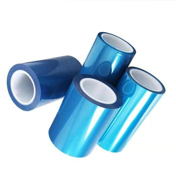 PET silicone double side protection film