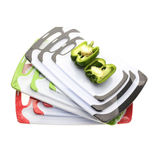 Kitchen Cutting Board (3-Piece Set) | Juice Grooves <strong>w</strong>/Easy-Grip Handles | BPA-Free, Non-Porous, Dishwasher Safe | Multiple Size
