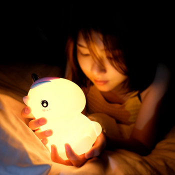 Baby Bedside Nightlight Silicone Cute Led Night Light Kids Lamp For Nursery