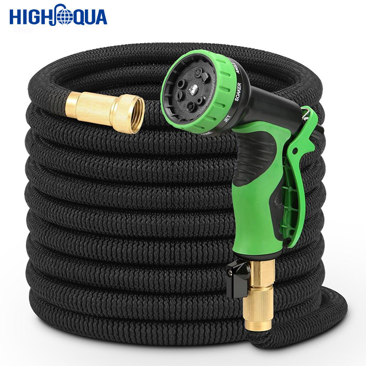 Market New Trendy Magic Spray <strong>Nozzle</strong> Flexible Garden Hose 25FT/50FT/75FT/100FT Expandable Magic Water Hose