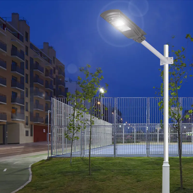 Profession Outdoor Led Solar Street Light With Lithium Battery