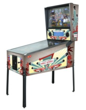 Virtual Pinball machines with 1080 games