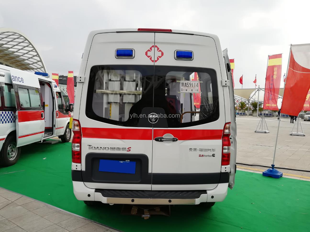 Foton kenya ambulance vehicle rescue types