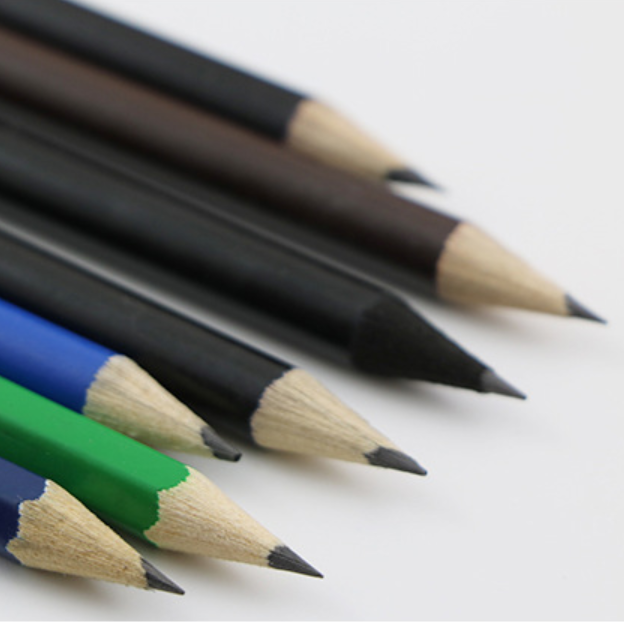 Hot Selling Eco-Friendly Carbon black drawing sketch wooden pencil set