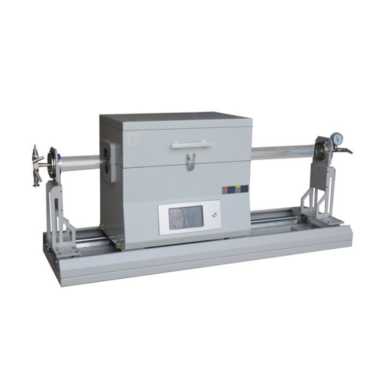 Compact laboratory rapid heat treatment tube furnace for sintering sample up to 1200C