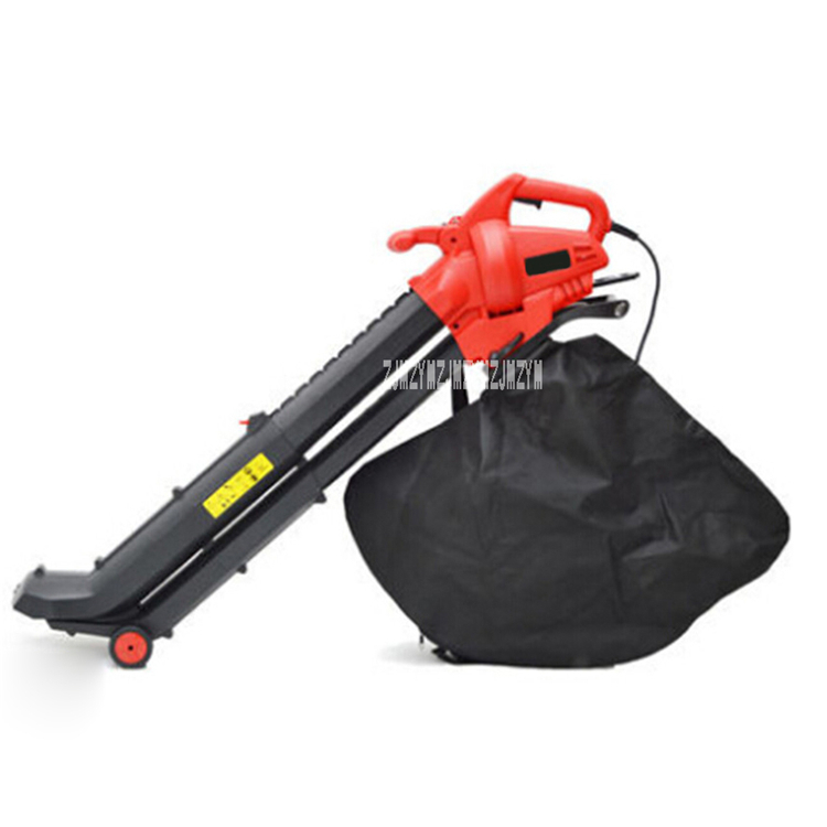 New Electric Leaf Suction Machine Outdoor Garden Leaf Blower &amp; Vacuum-Powerful 2800W 220V 14000 rev/min 275km/<strong>h</strong> With 10m Cable