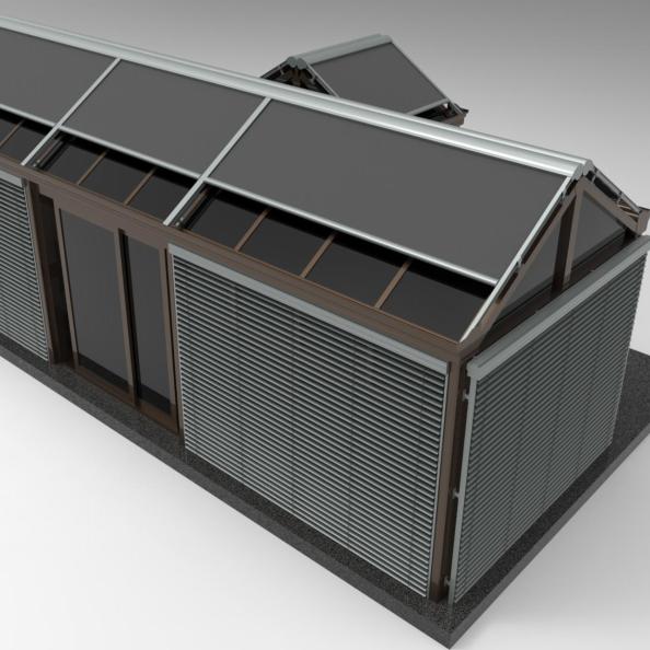 Stainless Steel Sensor Conservatory Rain Sensor