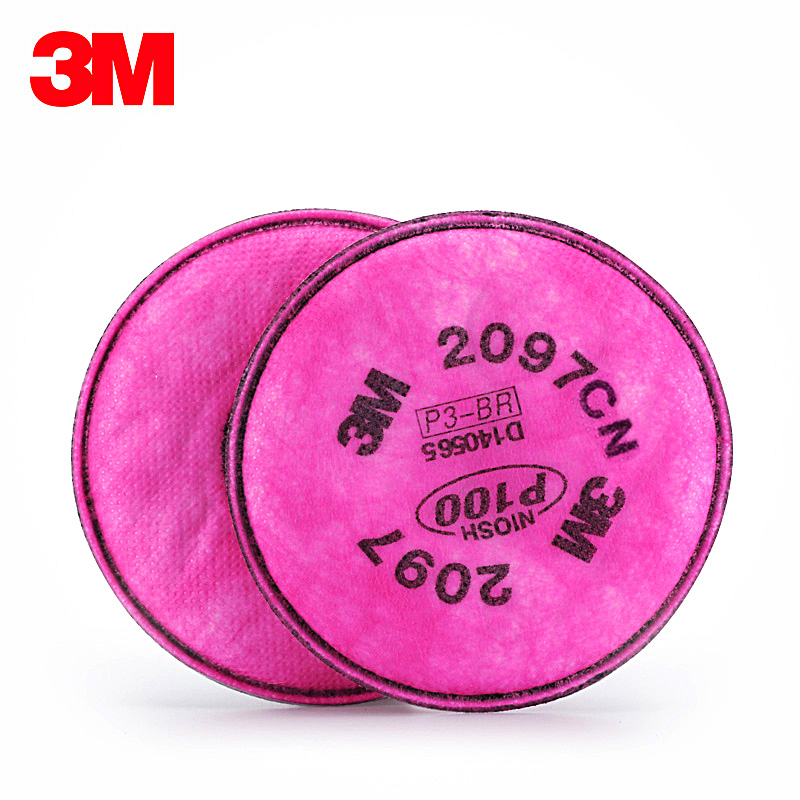 3M 2097CN Organic Cotton Filter High Efficiency Filter Cotton Activated Carbon Cotton Filter <strong>P100</strong>