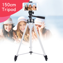 1.5m length professional flexible tripod for camera and phone